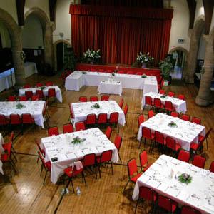 Crail community hall wedding
